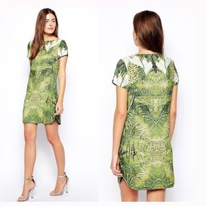 Ted Baker Dondri Mini dress with tropical doves